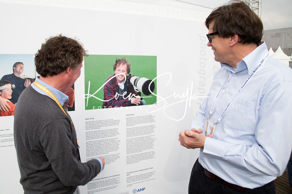 THE HAGUE - Rabobank Hockey World Cup 2014 - 02-06-2014 - EXPOSITIE KOEN SUYK<br /> Copyright: Willem Vernes