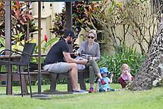 Emily Blunt & John with Children - 6 Sep 2018