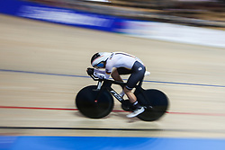 March 2, 2019 - Pruszkow, Poland - Lisa Klein (GER) competes in the Women's Individual pursuit on day four of the UCI Track Cycling World Championships held in the BGZ BNP Paribas Velodrome Arena on March 02 2019 in Pruszkow, Poland. (Credit Image: © Foto Olimpik/NurPhoto via ZUMA Press)