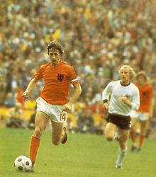 May 29, 2010 - Johan Cruyff, jugador de la Selección de Holanda 1974. (Credit Image: © El Tiempo/GDA/ZUMApress.com)
