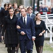 NLD/Delft/20131102 - Herdenkingsdienst voor de overleden prins Friso, prins jaime Bourbon de Parma en partner Viktoria Cservenyak