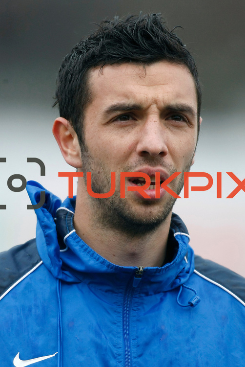 Eyupspor's Eser Yayla during their Turkey Cup matchday 3 soccer match Eyupspor between Eskisehirspor at Eyup Stadium in Istanbul Turkey on Wednesday, 11 January 2012. Photo by TURKPIX
