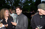 Stephanie theobalds and Olivier Garbay. The Serpentine Summer party co-hosted by Jimmy Choo. The Serpentine Gallery. 30 June 2005. ONE TIME USE ONLY - DO NOT ARCHIVE  © Copyright Photograph by Dafydd Jones 66 Stockwell Park Rd. London SW9 0DA Tel 020 7733 0108 www.dafjones.com