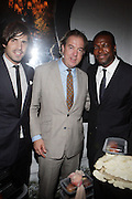 14 June 2010- Harlem, New York- l to r: Nacho Figueras, Mark Cornell, and Chris Tucker at The Apollo Theater's 2010 Spring Benefit and Awards Ceremony hosted by Jamie Foxx inducting Aretha Frankilin and Michael Jackson, and honoring Jennifer Lopez and Marc Anthony co- sponsored by Moet et Chandon which was held at the Apollo Theater on June 14, 2010 in Harlem, NYC. Photo Credit: Terrence Jennngs/Sipa