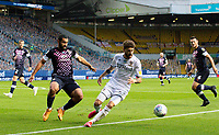 Leeds United's Mateusz Klich shields the ball from Luton Town's Cameron Carter-Vickers<br /> <br /> Photographer Alex Dodd/CameraSport<br /> <br /> The EFL Sky Bet Championship - Leeds United v Luton Town - Tuesday 30th June 2020 - Elland Road - Leeds<br /> <br /> World Copyright © 2020 CameraSport. All rights reserved. 43 Linden Ave. Countesthorpe. Leicester. England. LE8 5PG - Tel: +44 (0) 116 277 4147 - admin@camerasport.com - www.camerasport.com