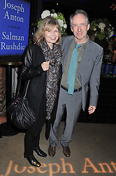 IAN McEWAN and ANNALENA McAFEE at a party to celebrate the publication of Joseph Anton by Sir Salman Rushdie held at The Collection, 264 Brompton Road, London SW3 on 14th September 2012.
