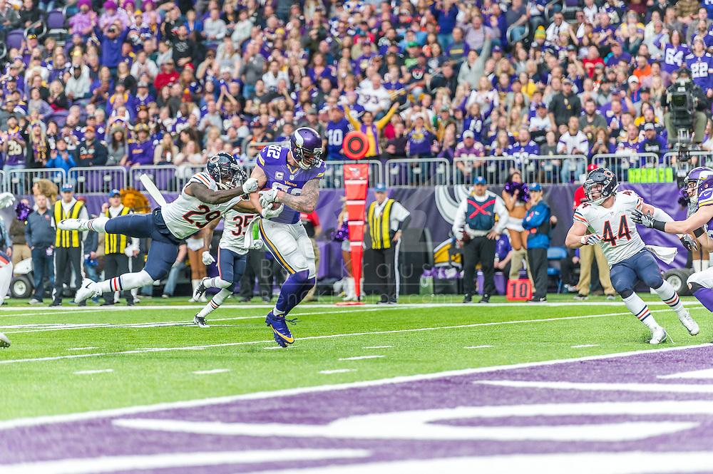 Minnesota Vikings vs. Chicago Bears on January 1, 2017 at U.S. Bank Stadium in Minneapolis, Minnesota.  Photo by Ben Krause/Minnesota Vikings