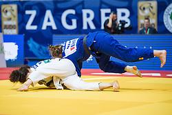VAN DIJKE Sanne of the Netherlands competes on July 27, 2019 at the IJF World Tour, Zagreb Grand Prix 2019, in Dom Sportova, Zagreb, Croatia. Photo by SPS / Sportida