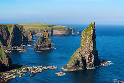 Stacks of Duncansby in north of Scotland