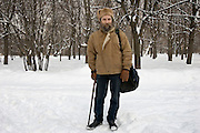 Moscow, Russia, 17/02/2006..Alexander Tarasov, co-director of the Centre for New Sociology and Practical Politics, and expert on Russian student and youth movements.
