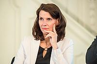 """27 JUN 2017, BERLIN/GERMANY:<br /> Rita Schwarzeluehr-Sutter, MdB, SPD, Parl. Staatssekretaerin im Bundesministerium fuer Umwelt, Naturschutz, Bau und Reaktorsicherheit, 25. bbh-Energiekonferenz """"Letzte Ausfahrt Dekarbonisierungf Energie- und Mobilitätswende"""", Französischer Dom<br /> IMAGE: 20170627-01-058<br /> KEYWORDS: Rita Schwarzelühr-Sutter"""