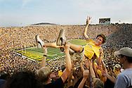 University of Michigan vs. Notre Dame. Home opener, Sept. 13, 2003. UM win.