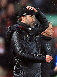 File photo dated 19-02-2019 of Liverpool manager Jurgen Klopp.