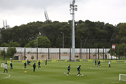 May 30, 2018 - Oeiras, Portugal - Portugal's team players in action during a training session at Cidade do Futebol (Football City) training camp in Oeiras, outskirts of Lisbon, on May 30, 2018, ahead of the FIFA World Cup Russia 2018 preparation matches against Belgium and Algeria...........during the Portuguese League football match Sporting CP vs Vitoria Guimaraes at Alvadade stadium in Lisbon on March 5, 2017. Photo: Pedro Fiuzaduring the Portugal Cup Final football match CD Aves vs Sporting CP at the Jamor stadium in Oeiras, outskirts of Lisbon, on May 20, 2015. (Credit Image: © Pedro Fiuza via ZUMA Wire)