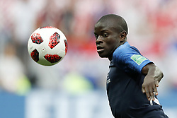 Ngolo Kante of France during the 2018 FIFA World Cup Russia Final match between France and Croatia at the Luzhniki Stadium on July 15, 2018 in Moscow, Russia