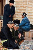 Ouzbekistan, region de Fergana, Kokand, capitale du Khanat de Kokand, Mosquée et Madrasa de Narbutabey // Uzbekistan, Fergana region, Kokand, capital of Khanat of Kokand, Mosque and Madrasah of Narbutabey