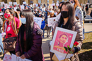 06 MARCH 2021 - DES MOINES, IOWA: About 300 members of the Burmese community in Iowa gathered at the State Capitol in Des Moines Saturday to protest against the military coup and continuing military oppression in Myanmar that deposed the popularly elected government of Aung San Suu Kyi. There are about 10,000 people in Iowa's Burmese community.             PHOTO BY JACK KURTZ