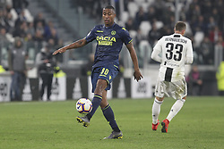 March 8, 2019 - Turin, Piedmont, Italy - Marvin Romeo Zeegelar (udinese Calcio) during the Serie A football match between Juventus FC and Udinese Calcio at Allianz Stadium on March 08, 2019 in Turin, Italy..Juventus won 4-1 over Udinese. (Credit Image: © Massimiliano Ferraro/NurPhoto via ZUMA Press)