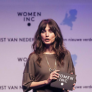 NLD/Utrecht/20150306 - Koningin Maxima bezoekt bijeenkomst  Women Inc., Daphne Bunskoek