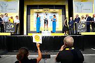 Podium, Pierre Latour (FRA - AG2R - La Mondiale) during the 105th Tour de France 2018, Stage 18, Trie sur Baise - Pau (172 km) on July 26th, 2018 - Photo Luca Bettini / BettiniPhoto / ProSportsImages / DPPI