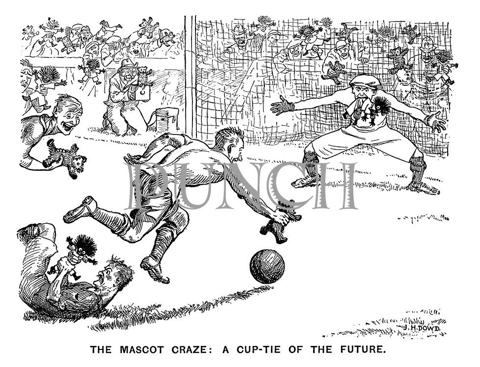 The Mascot Craze: A Cup-Tie of the Future.