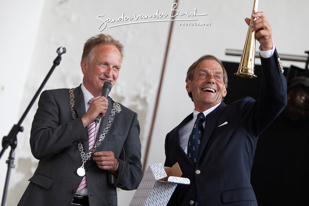 Medemblik - the Netherlands, July 8th 2010. Delta Lloyd IFDS Worlds 2010 (9/14 July 2010). Openings Ceremony.