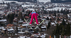 30.01.2016, Normal Hill Indiviual, Oberstdorf, GER, FIS Weltcup Ski Sprung Ladis, Bewerb, im Bild Sabrina Windmueller (SUI) // Sabrina Windmueller of Switzerland during her Competition Jump of FIS Ski Jumping World Cup Ladis at the Normal Hill Indiviual, Oberstdorf, Germany on 2016/01/30. EXPA Pictures © 2016, PhotoCredit: EXPA/ Peter Rinderer