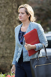 Downing Street, London, April 12th 2016. Energy Secretary Amber Rudd arrives at the weekly cabinet meeting. ©Paul Davey<br /> FOR LICENCING CONTACT: Paul Davey +44 (0) 7966 016 296 paul@pauldaveycreative.co.uk