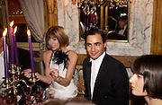 Anna Wintour and Zac Posen, Crillon 2004 Debutante Ball. Crillon Hotel. Paris. 26 November 2004. ONE TIME USE ONLY - DO NOT ARCHIVE  © Copyright Photograph by Dafydd Jones 66 Stockwell Park Rd. London SW9 0DA Tel 020 7733 0108 www.dafjones.com