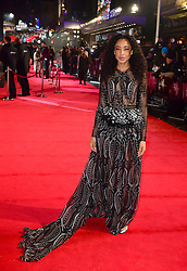Corinne Bailey Rae arriving for the Fifty Shader Darker European Premiere held at Odeon Leicester Square, London.