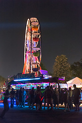 Furthur Bus and Ferris Wheel at The Gathering of the Vibes 31 July 2014
