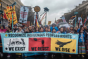 WASHINGTON, DC -- 3/10/17 -- Marchers take over Pennsylvania Avenue as they proceed to the White House. Protestors march against the Dakota Access Pipeline after three days of action on the Mall. Thousands gathered in DC to voice their dissent to the Trump Administration's decision to complete the controversial pipeline.…by André Chung #_AC22718