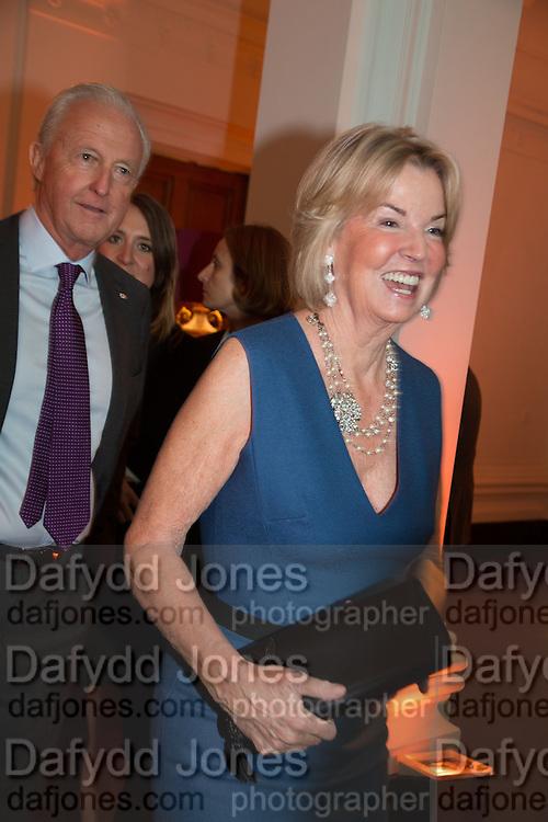 GALEN WESTON; HILARY WESTON, Gala Opening of RA Now. Royal Academy of Arts,  8 October 2012.