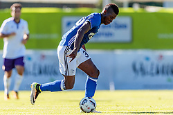 07.08.2016, Alois Latini Stadion, Zell am See, AUT, Testspiel, Schalke 04 vs ACF Fiorentina, im Bild Breel Embolo (FC Schalke 04) //  Breel Embolo (FC Schalke 04) during the International Friendly Football Match between Schalke 04 and ACF Fiorentina at the Alois Latini Stadium in Zell am See, Austria on 2016/08/07. EXPA Pictures © 2016, PhotoCredit: EXPA/ JFK