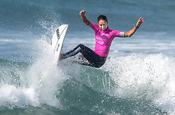 September 6, 2017 - San Clemente, California, USA - Sally Fitzgibbons surfs in her heat during the Swatch Pro at Lower Trestles at San Onofre State Beach south of San Clemente on Wednesday, August 6, 2017. (Photo by Mark Rightmire, Orange County Register/SCNG) (Credit Image: © Mark Rightmire/The Orange County Register via ZUMA Wire)