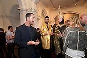 RUPERT EVERETT; KENTARO POTELIAKHOFF; DANIEL LISMORE; MEG MATTHEW Isabella Blow  by Martina Rink.  Haunch of Venison. London. 13 September 2010., DO NOT ARCHIVE-© Copyright Photograph by Dafydd Jones. 248 Clapham Rd. London SW9 0PZ. Tel 0207 820 0771. www.dafjones.com.