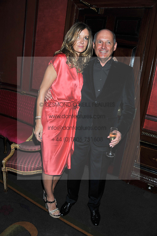CAROL WEATHERALL and RON DENNIS at the 39th birthday party for Nick Candy in association with Ciroc Vodka held at 5 Cavindish Square, London on 21st Januatu 2012.