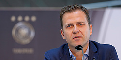 08.06.2015, Mercedes Benz Zenter, Koeln, GER, Nationalmannschaft, Pressekonferenz, im Bild Sportlicher Leiter Oliver Bierhoff // during a press conference of the german national football team at the Mercedes Benz Zenter in Koeln, Germany on 2015/06/08. EXPA Pictures © 2015, PhotoCredit: EXPA/ Eibner-Pressefoto/ Schüler<br /> <br /> *****ATTENTION - OUT of GER*****