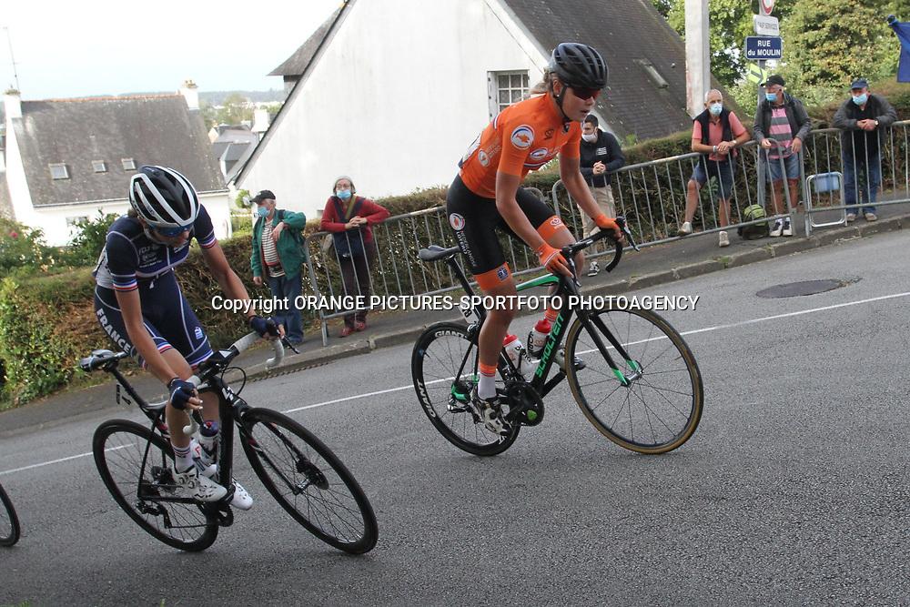 26-08-2020: Wielrennen: EK wielrennen: Plouay<br /> Lieke Nooijen26-08-2020: Wielrennen: EK wielrennen: Plouay