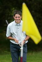 MOLENSCHOT - Richard Kind.   Voorjaarswedstrijd golf 2003 op GC Toxandria. . COPYRIGHT KOEN SUYK