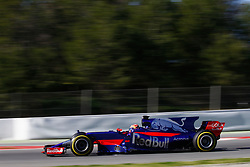 March 7, 2017 - Barcelona, Cataluna, Spain - Motorsports: FIA Formula One World Championship 2017, Test in Barcelona,.Daniil Kwjat (RUS, Scuderia Toro Rosso) (Credit Image: © Hoch Zwei via ZUMA Wire)