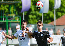 Rok Sirk of NS Mura during football match between NS Mura and NK Krsko in 5th Round of Prva liga Telekom Slovenije 2018/19, on August 19, 2018 in Mestni stadion Fazanerija, Murska Sobota, Slovenia. Photo by Mario Horvat / Sportida