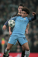 Leroy Sané (Manchester City) during the Champions League match between Manchester City and Celtic at the Etihad Stadium, Manchester, England on 6 December 2016. Photo by Mark P Doherty.