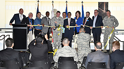 June 14,2017. Moreno Valley CA.  March AFB shows some of the MQ-9 Reaper drone ships at their new home of the 163d Attack Wing team for remote-piloted aircraft drones. The drones have been used remotely piloted aircraft in support of civil authorities like CAL FIRE. Photo by Gene Blevins/LA DaiyNews/ZumaPress (Credit Image: © Gene Blevins via ZUMA Wire)