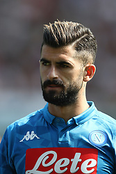 September 23, 2018 - Turin, Italy - Napoli defender Sebastiano Luperto (13) poses in order to be photographed before the Serie A football match n.5 TORINO - NAPOLI on 23/09/2018 at the Stadio Olimpico Grande Torino in Turin, Italy. (Credit Image: © Matteo Bottanelli/NurPhoto/ZUMA Press)