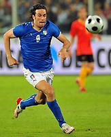 """Luca Toni (Italia)<br /> Firenze 30/5/2008 Stadio """"Artemio Franchi"""" <br /> Friendly Match - Amichevole<br /> Italia Belgio / Italy Belgium (3-1)<br /> Foto Andrea Staccioli Insidefoto"""