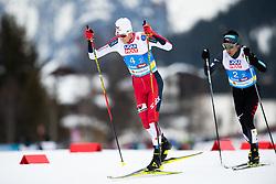 February 24, 2019 - Seefeld In Tirol, AUSTRIA - 190224 Jarl Magnus Riiber of Norway competes in men's nordic combined team sprint during the FIS Nordic World Ski Championships on February 24, 2019 in Seefeld in Tirol..Photo: Vegard Wivestad Grøtt / BILDBYRÃ…N / kod VG / 170297 (Credit Image: © Vegard Wivestad GrØTt/Bildbyran via ZUMA Press)