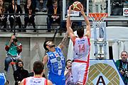 DESCRIZIONE : Final Eight Coppa Italia 2015 Semifinale Dinamo Banco di Sardegna Sassari - Grissin Bon Reggio Emilia<br /> GIOCATORE : Brian Sacchetti Riccardo Cervi<br /> CATEGORIA : controcampo rimbalzo fallo<br /> SQUADRA : Grissin Bon Reggio Emilia Banco di Sardegna Sassari<br /> EVENTO : Final Eight Coppa Italia 2015 <br /> GARA : Dinamo Banco di Sardegna Sassari - Grissin Bon Reggio Emilia<br /> DATA : 21/02/2015<br /> SPORT : Pallacanestro <br /> AUTORE : Agenzia Ciamillo-Castoria/Max.Ceretti