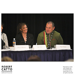 Niki Caro;Toa Fraser at the Spada Conference 2005: Small Country, Big Picture at the Intercontinental Hotel, Wellington, New Zealand.