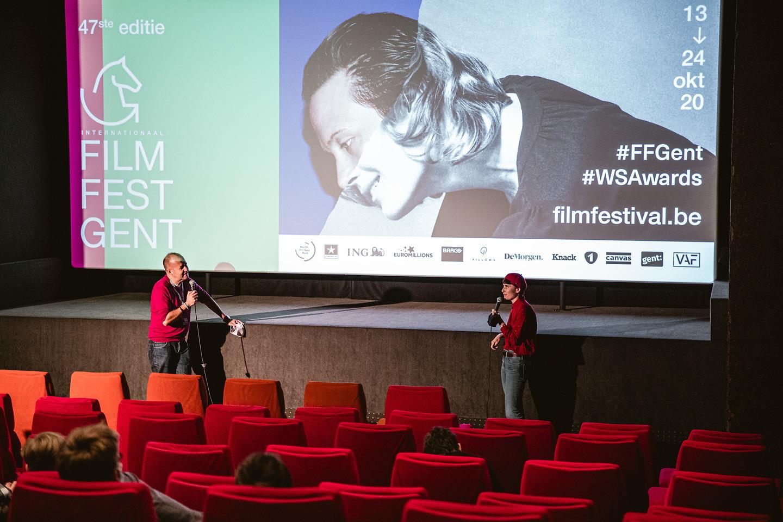 Film Fest Gent - Q&A Ein Fisch, der auf dem Rücken schwimmt